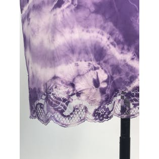 Purple Tie Dye Slip Dress by Mayaro