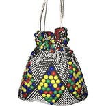60's Bubblegum Beaded Bag