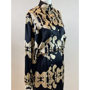00's Abstract Print Dress by Mara Hoffman