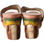 another view of 40's Wooden Souvenir Sandals