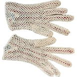 another view of 50's Crocheted Two Tone Victorian Gloves by Fabala