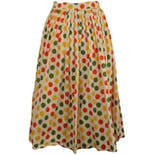 50's Polka Dot Swing Skirt