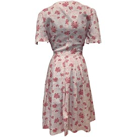 50's Pink Floral Sundress