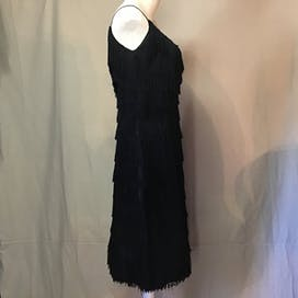60's Flapper Style Fringed Dress