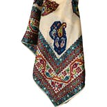 60's Large Geo Paisley Scarf by Echo