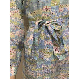 60's Pastel Print Shirt Dress by Lanvin