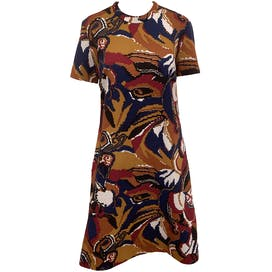 60's Mod Abstract Shift Dress by Parkshire
