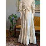 another view of 70's Cream Wedding Dress by Gunne Sax