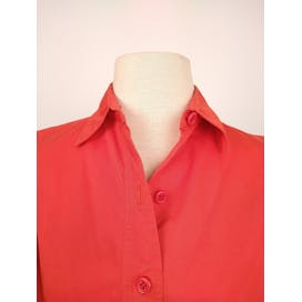 70's French Red Swing Jacket by Saint Laurent