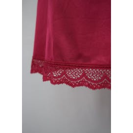 70's Hot Pink Slip with Lace Trim by Collectible Classics