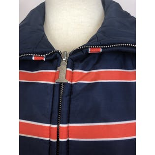 70's Navy and Red Ski Jacket by Number 1 Sun