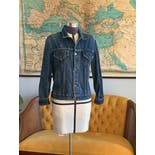 another view of 70's Perfect Denim Jacket by Roebucks