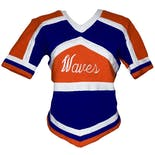 another view of 70's Two Piece Cheer Outfit by Cheerleader And Danzteam