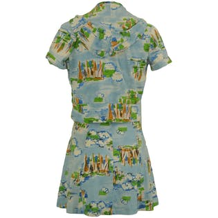 70's Landscape Dress Set