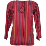 another view of 70's Pink Stripe Top
