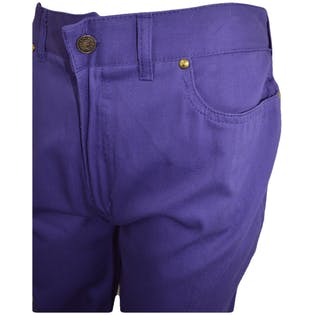 70's Purple Fitted Jeans