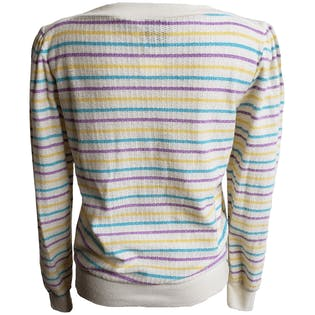 70's Striped Sweater by Rubin's Nest
