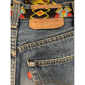 80's Beaded Jeans by Levi's