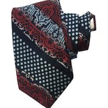 80's Red and Blue Ombre Tie by Armando Collection
