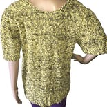 another view of 80's Chunky Knit V Neck Sweater by Country Craft