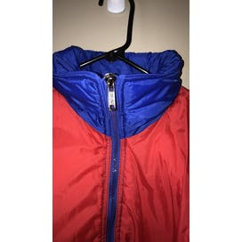 80's Color Block Puffer Ski Jacket by Cortina