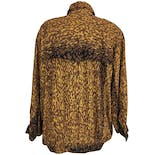 another view of 80's Animal Print Oversized Jacket by A.b.s California