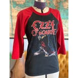 another view of 80's Ozzy Osbourne Blizzard of Ozz Tee