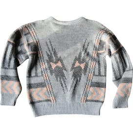 80's Patterned Sweater