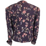 another view of Purple Quilted Floral Print Jacket by Vera Bradley Designs