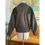 another view of 80's Tweed Oversized Crop Jacket by Mark Up