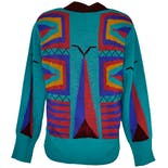 another view of 80's Boobtube Sweater by Vivienne Westwood for World's End