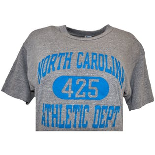 80's North Carolina Athletic T-Shirt by Champion