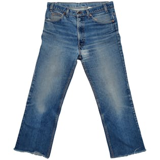 80's Orange Tab 517 Jeans by Levi's