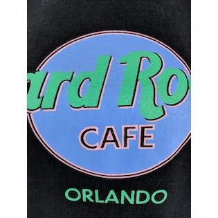 90's Graphic Hard Rock Orlando T-Shirt by Hard Rock Cafe