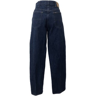 90's High Waist Straight Leg Blue Jeans by Riders