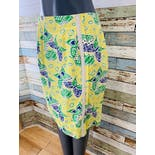 another view of 90's Butterfly Print Skirt by Lilly Pulitzer