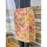 another view of 90's Tropical Beach Bar Skirt by Lilly Pulitzer