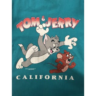 90's Tom & Jerry Graphic T-Shirt by Velvasheen