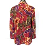 another view of 90's Tropical Hawaiian Blazer by Casual Corner