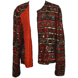90's Beaded Trophy Jacket by Adrianna Papell