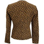 another view of 90's Leopard Printed Blazer by Maggy London