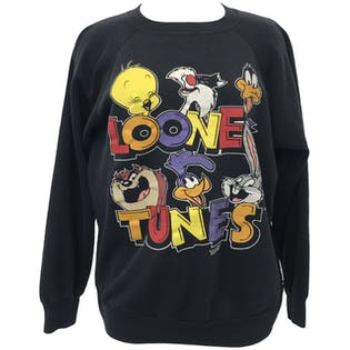 90's Looney Tunes Graphic Sweatshirtby I.E. Morgan Fleecewise Classified