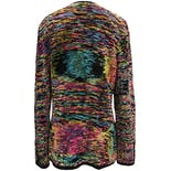 another view of 90's Multicolor Knit Cardigan by Steve Fabrikant Signature Neiman Marcus