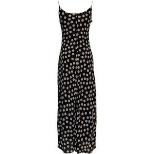 90's Polka Dot Maxi Dress by Steppin' Out