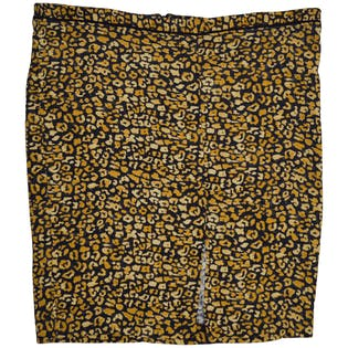 Animal Print Skirt by Who What Wear