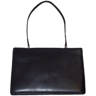 Black Shoulder Bag by Dolce and Gabbana
