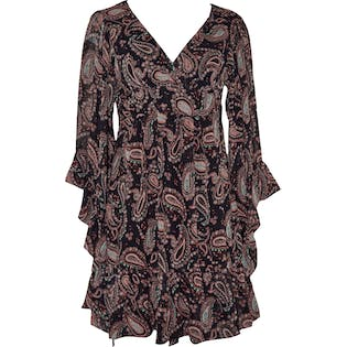 Paisley Dress by Betsy Johnson