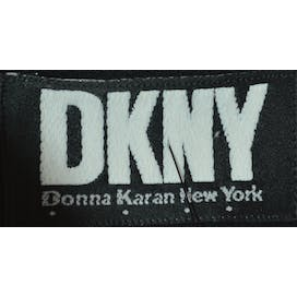 Black Dress Jacket with Sheer Cape by DKNY