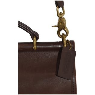 Brown Leather Crossbody by Coach