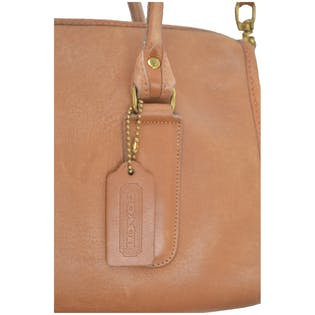 Brown Shoulder Bag by Coach
